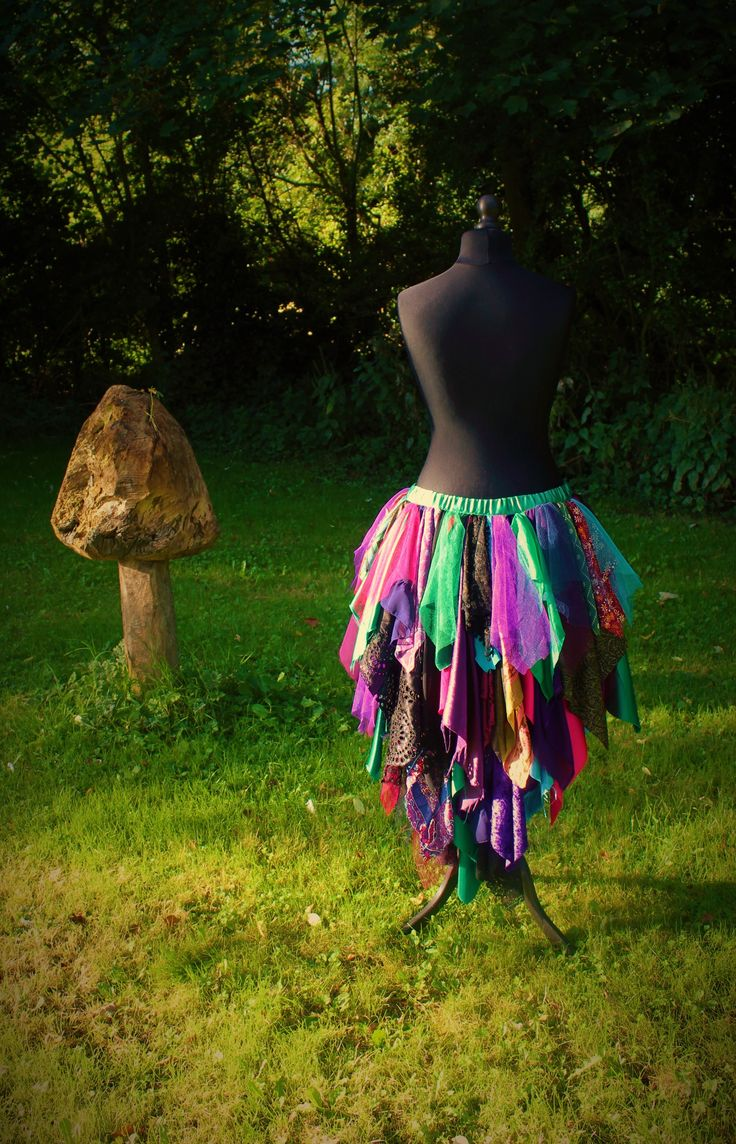 Mad Hatter Skirt. Hand Made Bespoke Fancy Dress by Faerie In The Foxglove.