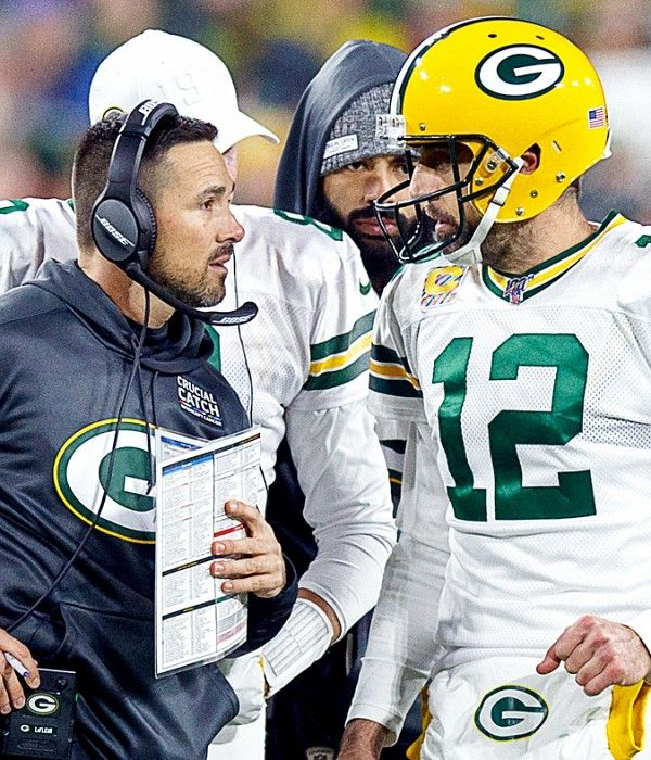 Silver Packers Matt Lafleur May Consult Sean Mcvay To Prep For 49ers Rematch In 2020 Sean Mcvay Levi Stadium 49ers