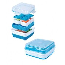 Cool Gear EZ Freeze Collapsible Bento Box Lunch Container - 1465 | Everything Kitchens