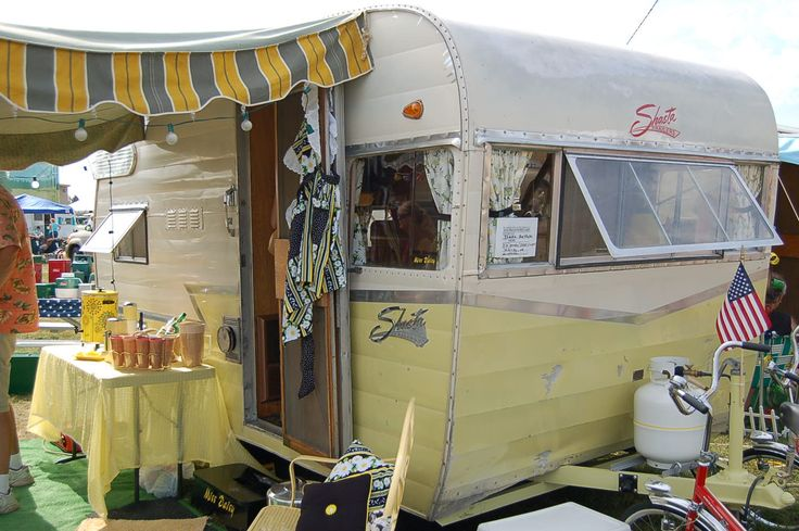 Vintage Shasta Campers Vintage Trailer Awnings From