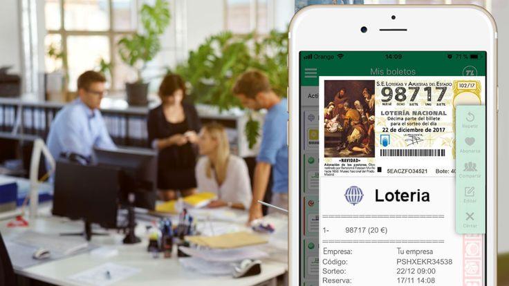 La nueva forma de comprar Lotería: adiós a las colas bienvenida tecnología