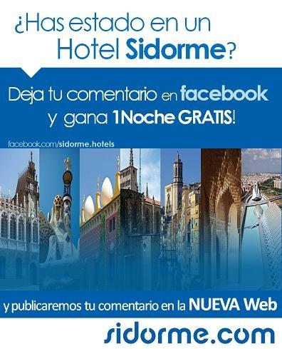 - Nuevo Concurso -  ¿Has estado en un #Hotel #Sidorme?   !Queremos saber tu opinión!