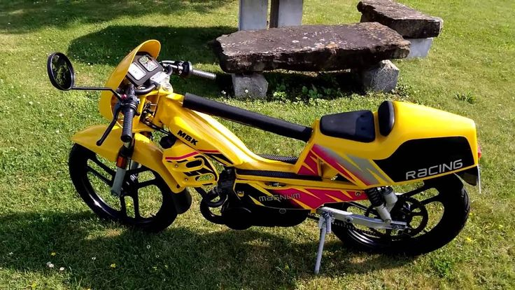 Magnum Racing jaune competition
