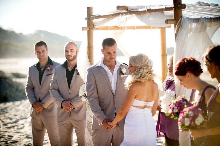 Beautiful beach wedding Stradbroke Island Photography - North Stradbroke Island - Wedding Gallery