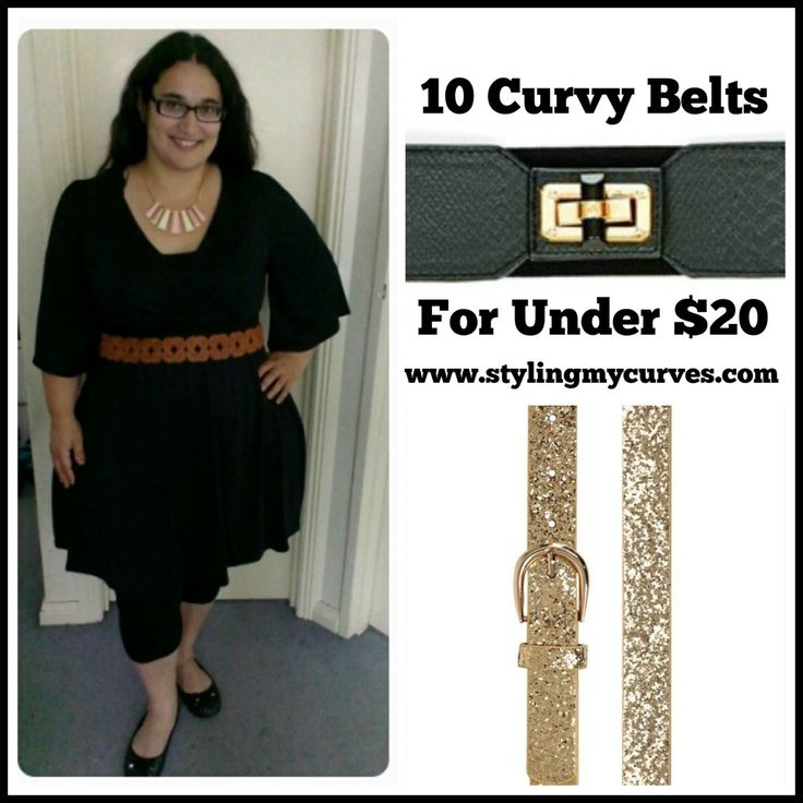 10 Curvy Plus Sized Belts For Under $20