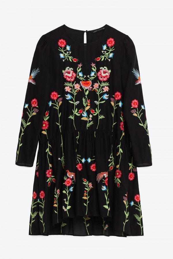Zara Floral Embroidered Dress, £49.99 - 12 Dresses That Will Make You Fall In…