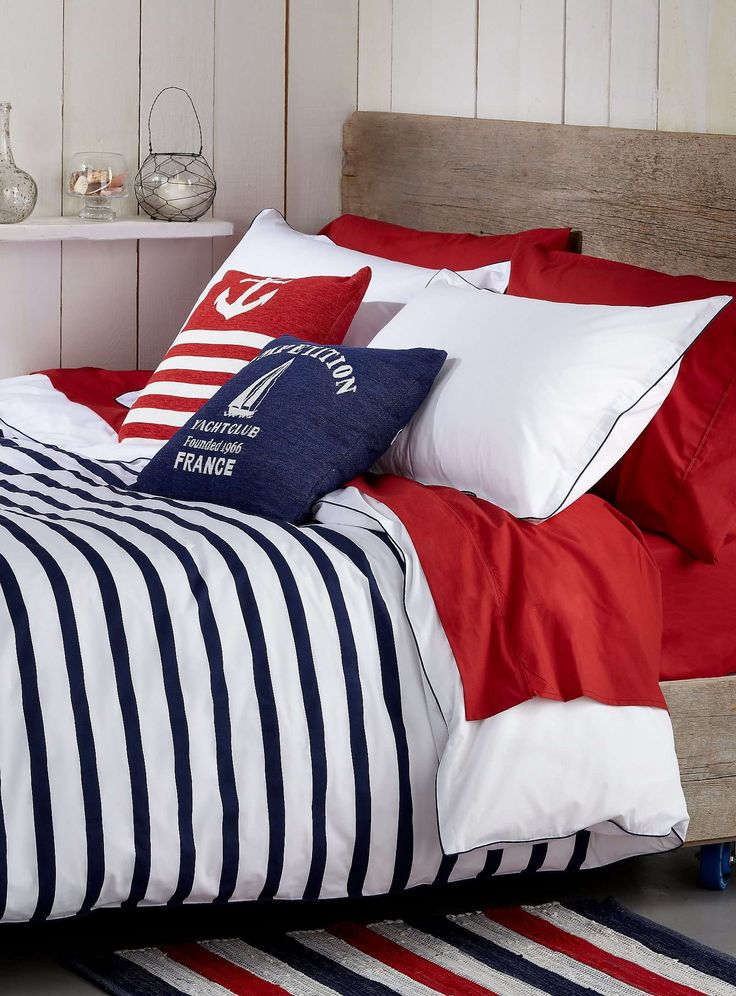 Deauville stripe duvet cover set - Duvet Covers & Comforters | Simons