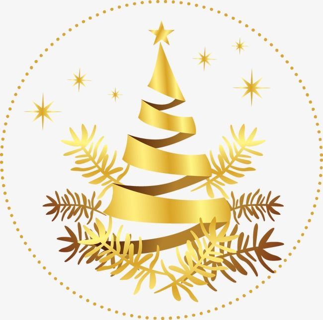 Golden Snowflake Christmas Tree With Images Christmas