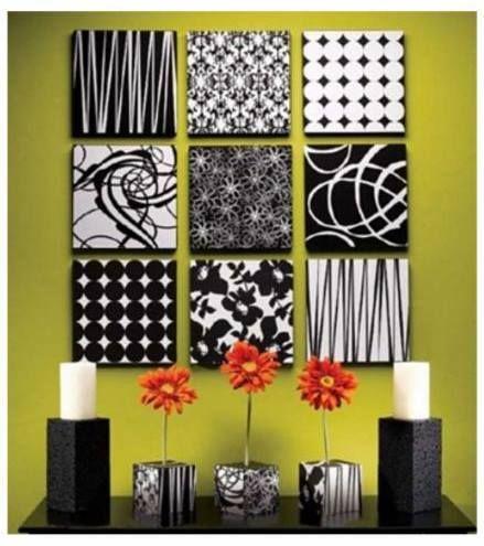 La decoraci n interior en viviendas mediante collages de for Decoracion de paredes con cuadros
