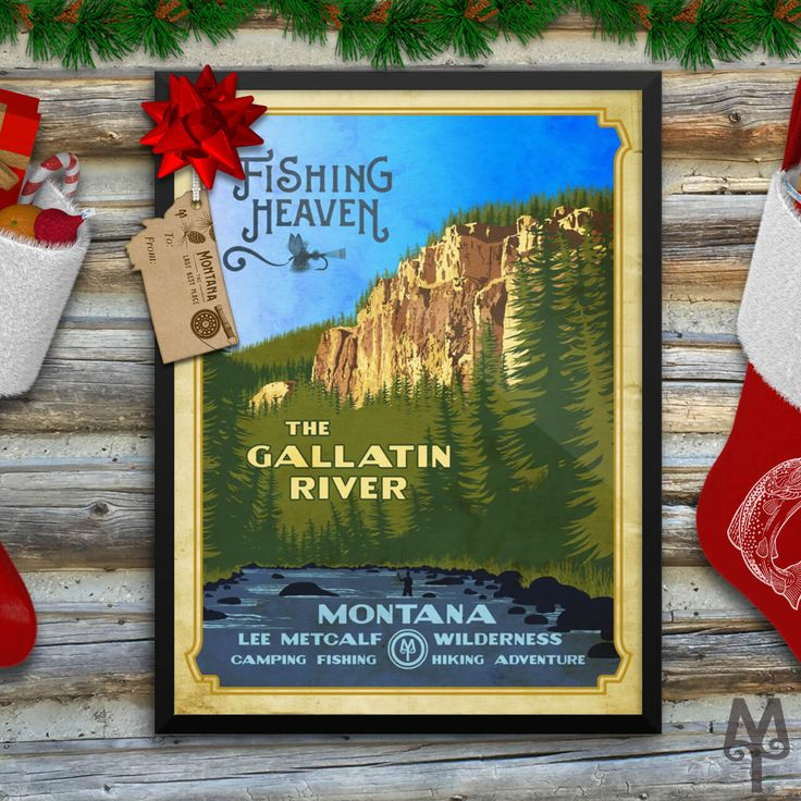 Shop for fly fishing and Montana themed posters you won't find anywhere else...only on Montana-Treasures dot com