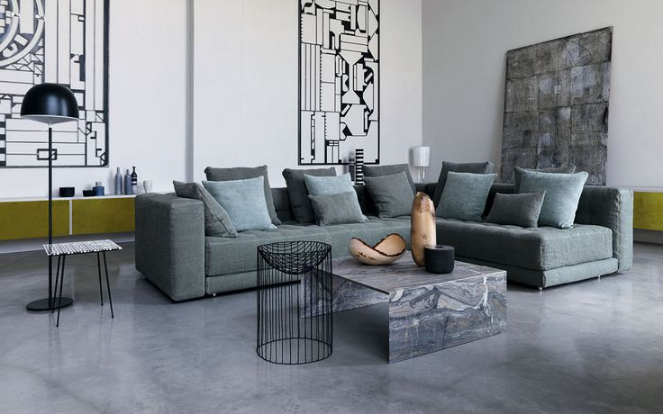 New stunning sofa collection from Flou - Italy... simply amazing!