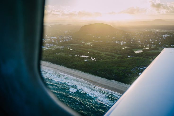 Mount Coolum from above
