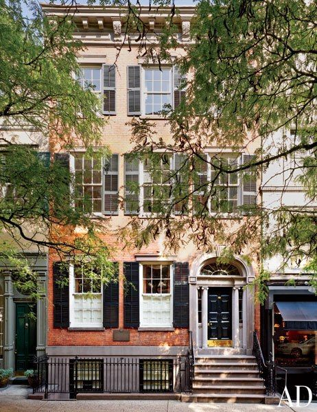 59 best the brownstones images on pinterest old mansions for Modern townhouse exterior