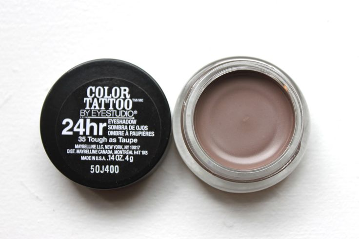 "Maybelline Color Tattoo Cream Eyeshadow in ""Tough as Taupe"""