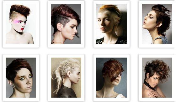 Best 25+ Short Punk Hairstyles Ideas On Pinterest