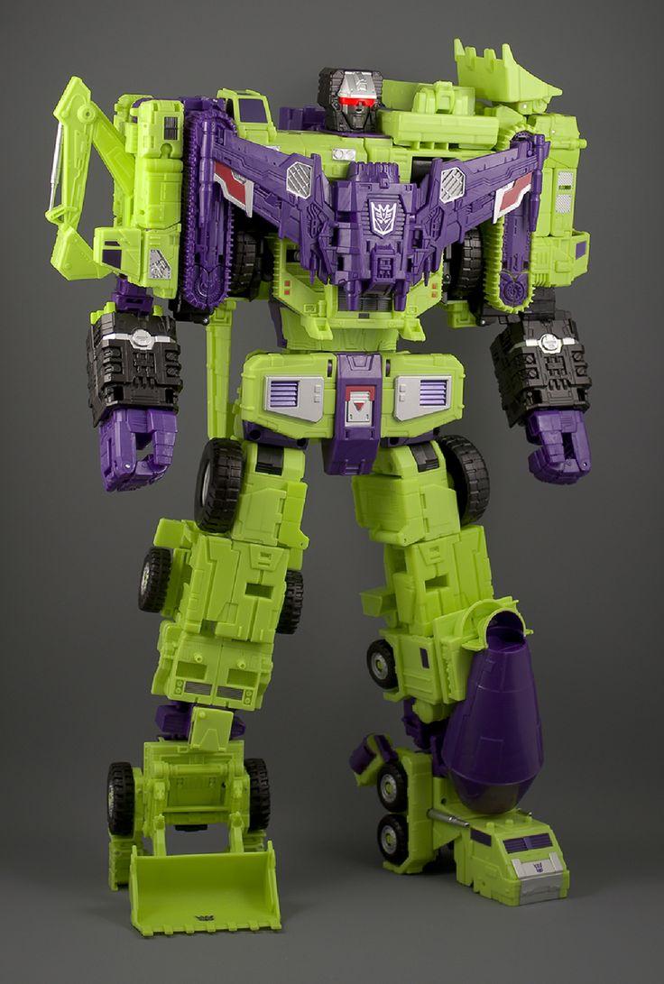 Transformers Unite Warriors (Japanese Combiner Wars) Devastator