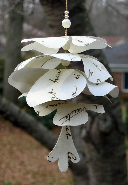 Paper Christmas ornaments ♥
