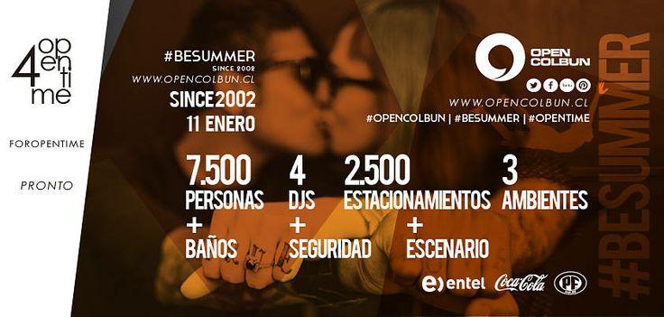 Por qué open colbun es la fiesta más grande del centro sur de chile? #opencolbun #besummer #opentime