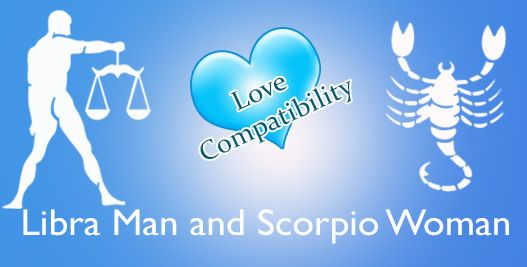 Love match compatibility between Libra man and Scorpio woman. Read about the Libra male love relationship with Scorpio female.