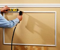 101 best diy moldingtrimwainscoting images on pinterest - Decorative Wall Molding Designs