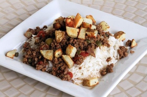 authentic-cuban-picadillo http://www.mylifeasamrs.com/2012/06/authentic-cuban-picadillo.html