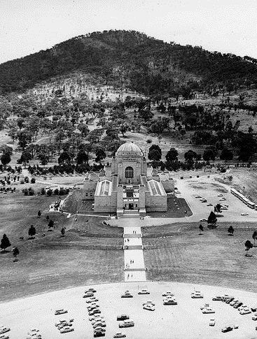 The Australia War Memorial - Canberra -1950s