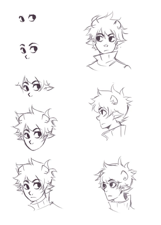 Line Art Drawing Tutorial : Ikimaru s face tutorial if i had one wish it d be to