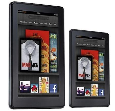 Amazon Kindle Fire Akan Hadir Dalam Layar 10-inci