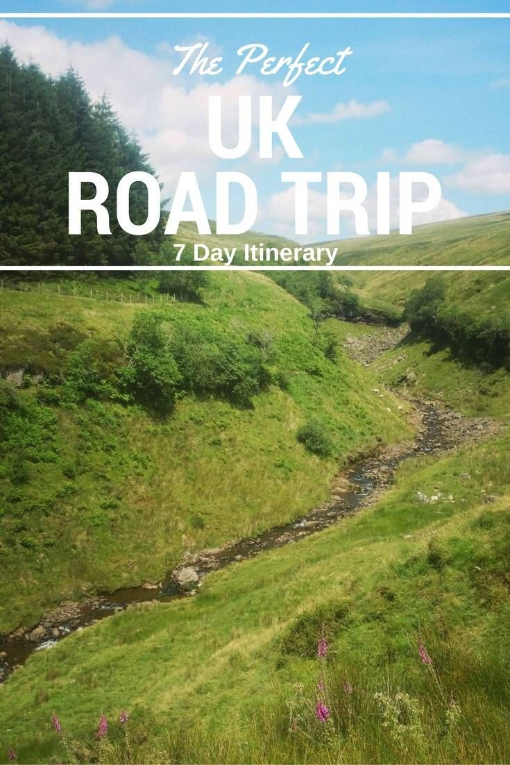 The Perfect 7 Day itinerary for a UK road trip. Includes Scotland, Wales and England. Pen y Fan is pictured above.
