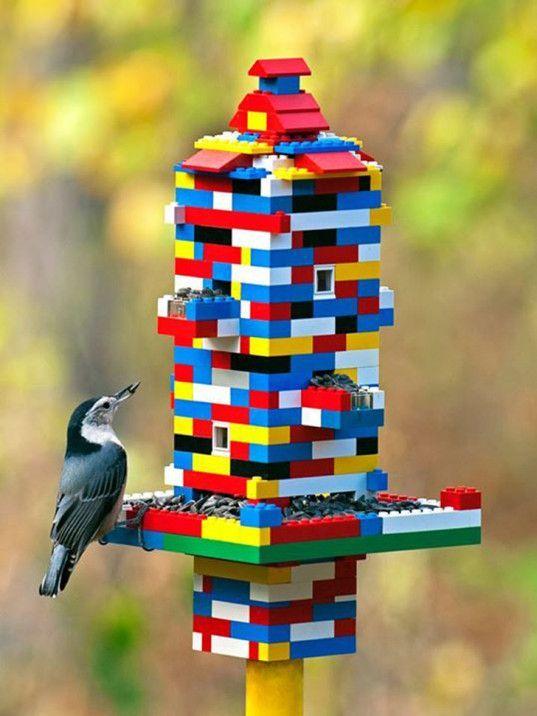 Geef om de natuur! Superschattige en nuttige zelfmaak voederplekken voor vogels! Perfect voor de zomer!
