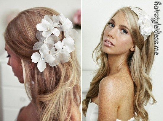Hairstyle (spotted by @Maryannpav )Hair Down, Hair Piece, Weddinghairstyles, Long Hair, Bridal Hairstyles, Wedding Hair Style, Hairstyles Ideas, Wedding Hairstyles, Hair Color