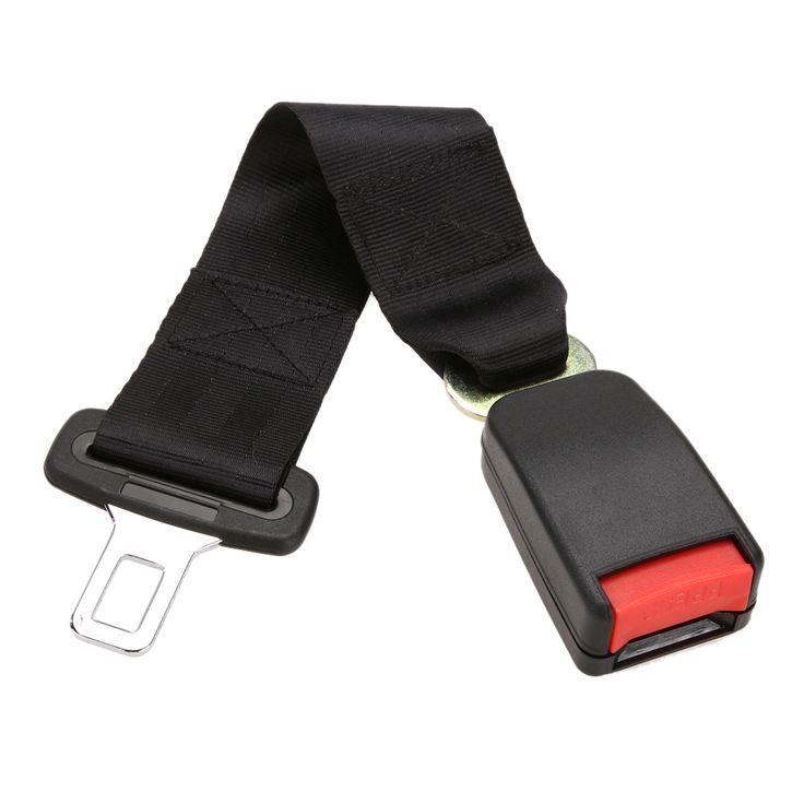 1 Pcs New Car Vehicle Seat Belt Extension Extender Strap Safety Buckle Black Car Interior Accessories 22mm Buckle Car Seat Belt