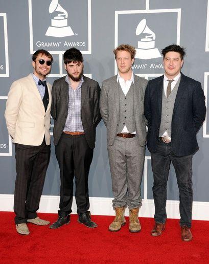 best dressed: grammys 2012. Mumford  Sons