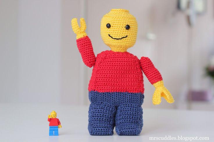 Mrs. Cuddles: Lego man crochet