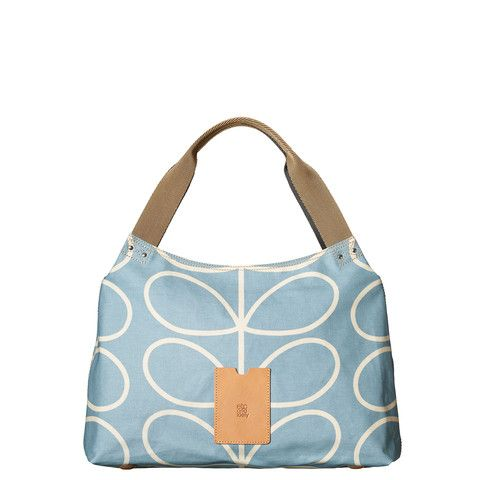 Orla Kiely Shoulder Bag - Sky - Coming Soon