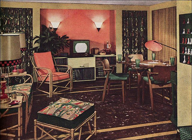 17 Best Images About Vintage Wicker Rattan On Pinterest