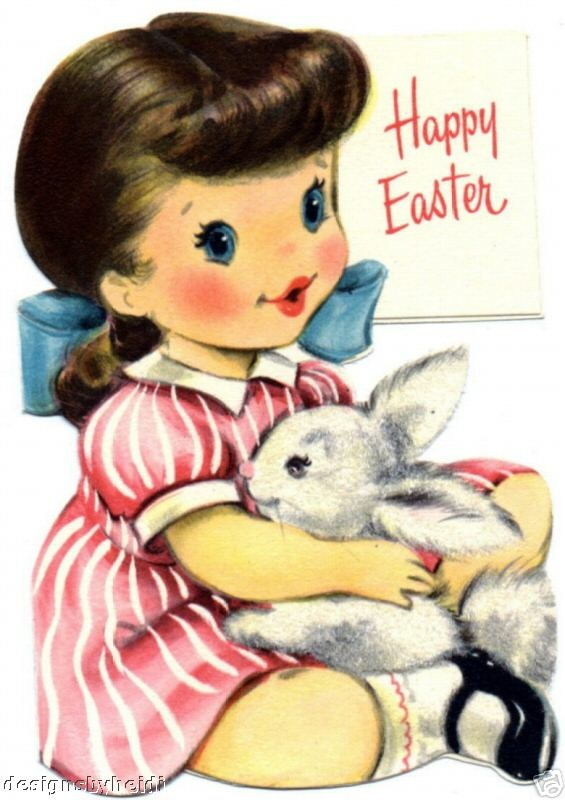 vintage Easter ~ so adorable !
