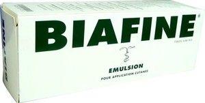 BIAFINE émulsion, le soin pour application cutanée indiqué dans le traitement des brûlures du premier et du second degré et toute autre plaie cutanée non infectée. Attention ce produit est un médicament.