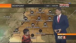 WATCH: Kid Crashes Live Weather Forecast, Predicts Farts and Toots