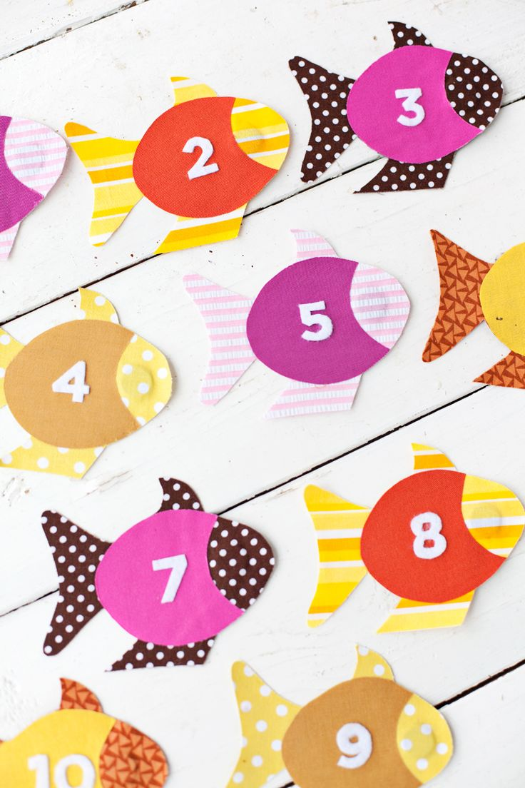 Fishing Games For Kids To Play - Easy no sew fabric fishing game for kids i might try this with sewing