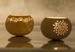 wheel thrown pottery ideas - Google Search- I love this idea! I think I'm at this skill level :)