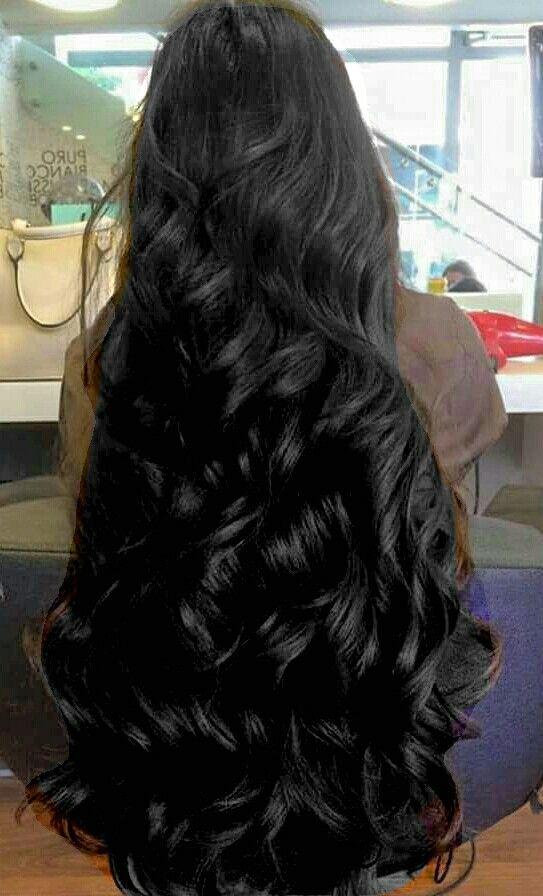 Full thick, beautiful hair