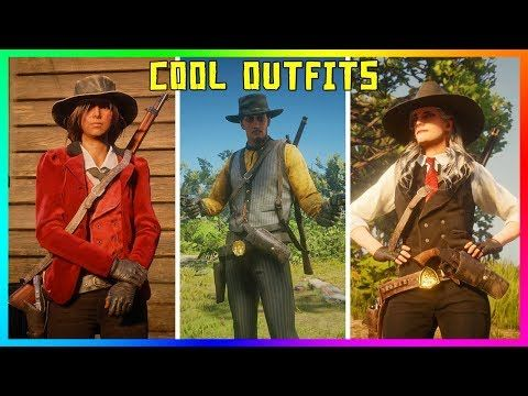 cool Red Dead Online - COOL OUTFITS! Doc Holliday, The Joker, Agent
