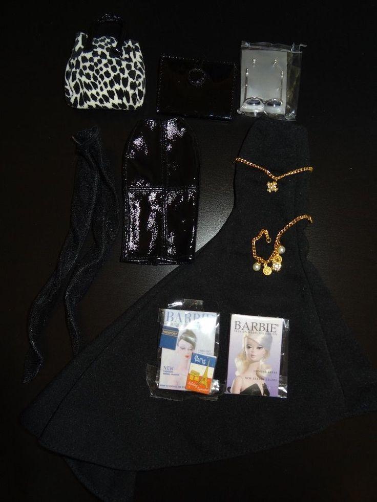 Barbie Set of Clothes-accessories #Mattel #Dolls