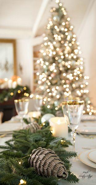 christmas wedding table inspirations