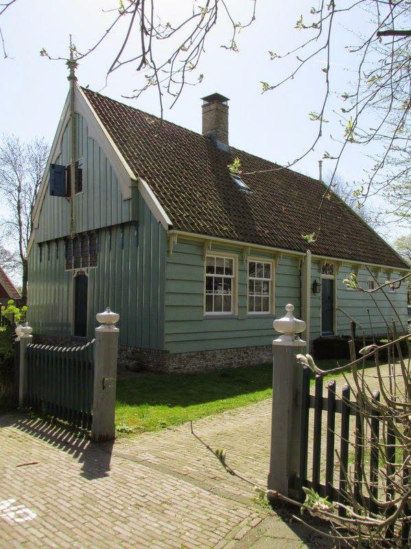 De tante van Tjorven: Historische dorpswandeling Broek in Waterland