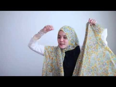 Hijab tutorial-simple and easy
