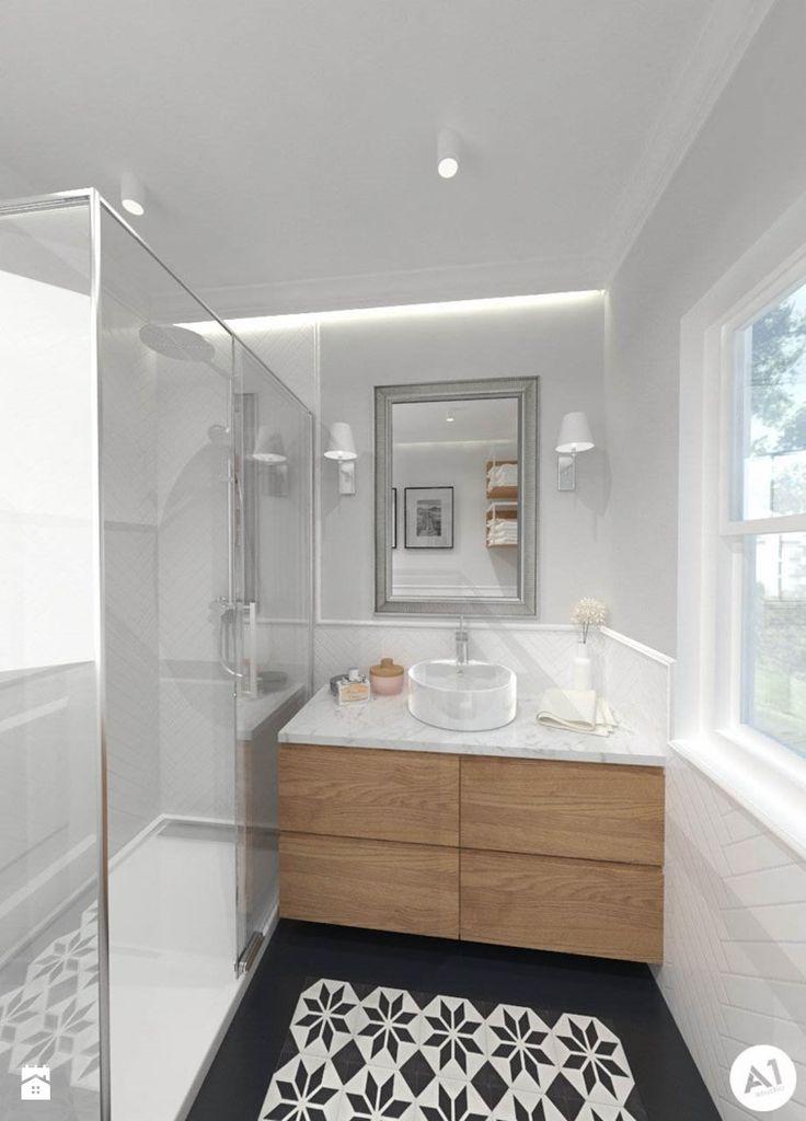 Łazienka styl Eklektyczny - zdjęcie od A1Studio - Łazienka - Styl Eklektyczny…