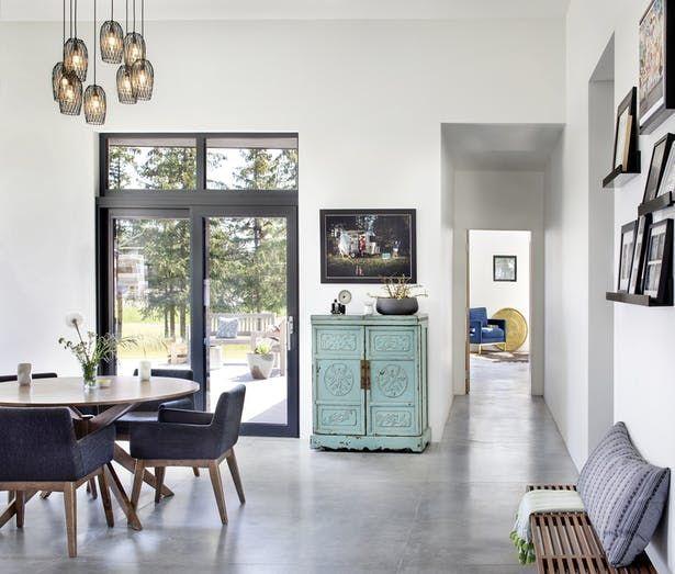 Railway Residence Futuristic Home Interior Architecture