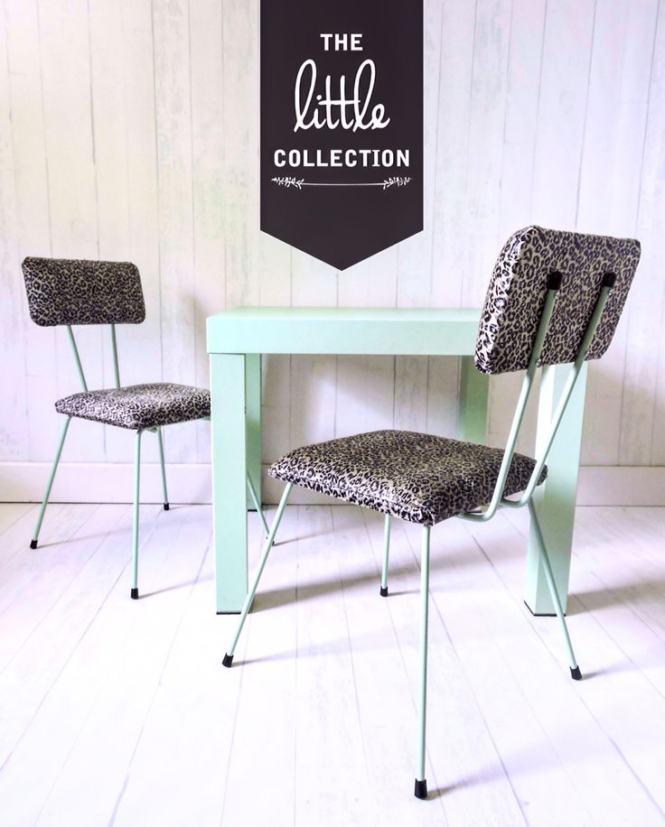 The Little Collection kids retro style chair - EVIE chair
